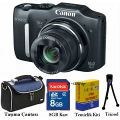 Canon SX160IS 16MP HD Dijital Foto�raf Makinesi
