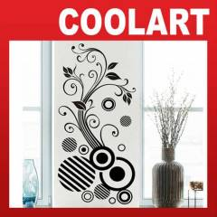 COOLART Duvar Sticker Geometrik ve �i�ek (st190)