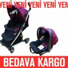 KRAFT Relax Travel Sistem Bebek Arabas� - Pembe