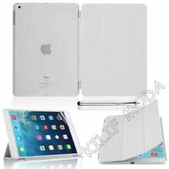 iPad 5 Air K�l�f Smart Cover + �effaf Kapak BYZ