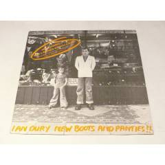�AN DURY - New Boots And Panties!! , LP 1978