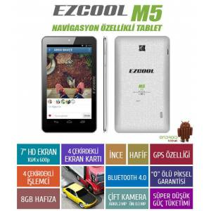 "Ezcool M2-S 8GB Dual Core 7"" HD Tablet PC"