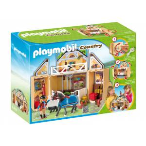 Playmobil At Bak�m Evi Play Mobil 5418