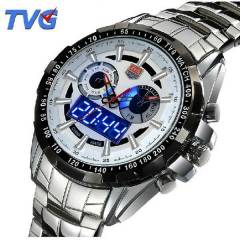 TVG Saat Analog ve Digital G�stergeli Led I��kl�