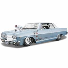 Maisto 1965 Chevrolet Malibu Ss Model Araba 1:24
