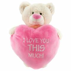 I Love ? Th�s Much Kalpli Ayakta Ay� 55  cm Pelu