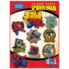 Spiderman �ocuk Puzzle 8 �n 1
