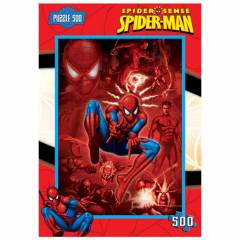 Spiderman �ocuk Puzzle 500 Par�a