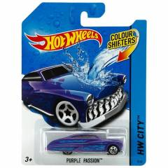Hot Wheels Renk De�i�tiren Ara�lar Purple Passio