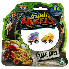 Trash Wheels ��ps Tekerler 2li Paket Take Away