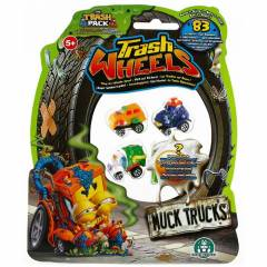 Trash Wheels ��ps Tekerler 4l� Paket Muck Trucks