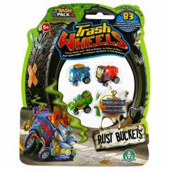 Trash Wheels ��ps Tekerler 4l� Paket Rust Bucket
