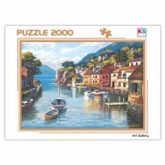 KS 2000 Par�a Puzzle Village On The Water