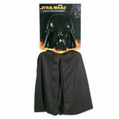 Star Wars Darth Vader Maske - Pelerin Set