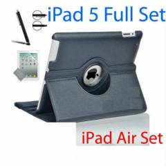 iPad 5 Air STANDLI KILIF 360� Full + Full Seti