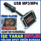 USB VE �AKMAK G�R��L� ARA� ��� FM/MP3/MP4 PLAYER