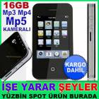 16GB KAMERALI DOKUNMAT�K EKRAN MP4-MP5 PLAYER KD
