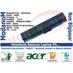 Acer Ferrari One Notebook Batarya Pili