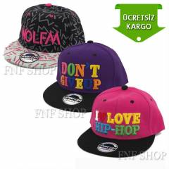 i Love  Hip Hop Hipster Full Cap �apka OZ15