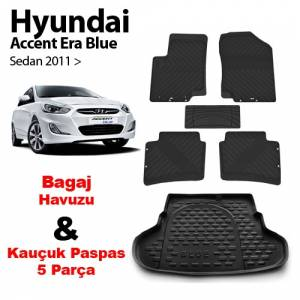 Hyundai Accent Era Blue Sedan Bagaj Havuzu+�� Pa