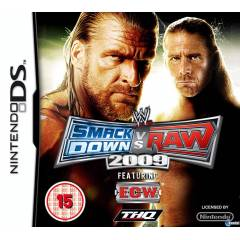 WWE SMACKDOWN VS RAW 2009 DS OYUNU