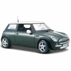 Maisto Mini Cooper 1:24 Model Araba S/E Ye�il