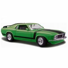 Maisto Ford Mustang Boss 1970 1:24 Model Araba S