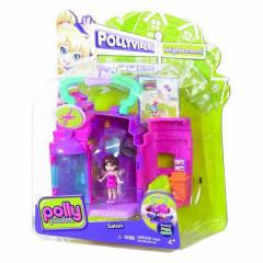 Polly Pocket Pollyville Kuaf�r Salonu Oyun Seti