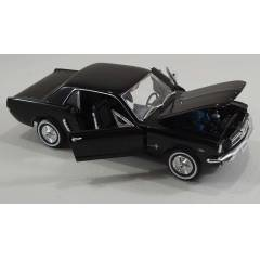 FORD - MUSTANG BLACK  COUPE 19 Welly - 1:24