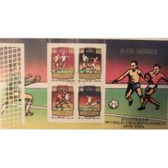 FUTBOL 1978-82 KUZEY KORE FOOTBALL WORLD