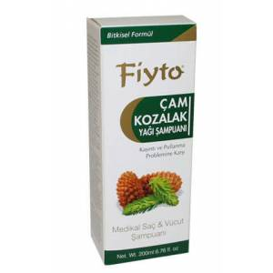 Fiyto �am Kozalakl� Sa� ve V�cut �ampuan� 200ml