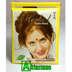 HERBAL H�NT KINASI SARI (YELLOW HENNA) AD.