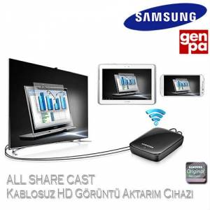 Samsung i9500 Galaxy S4 All Share Cast Kablosuz