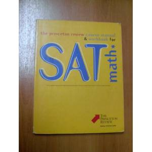 THE PRINCETON REVIEW COURSE MANUAL WORKBOOK FOR