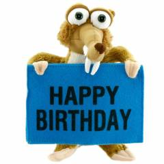 Ice Age Scrat Happy Birthday Pelu� Oyuncak 22 Cm