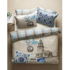 KARACA HOME �STANBUL BLUE ��FT K���L�K BATTAN�YE