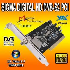 - PCI,Digital HD,DVB-S2,VIA Chipset TV Kart� SIG
