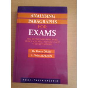 ANALYSING PARAGRAPHS FOR EXAMS-PARAGRAF ANAL�Z