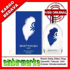 Benetton Blue Man Edt 100 Ml Erkek Parf�m�
