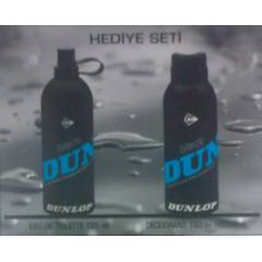 Dunlop Black Mavi EDT 125ml + 150ml Deodorant -