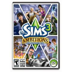 PC THE SIMS 3 AMBITIONS EK PAKET ORJ�NAL KUTULU