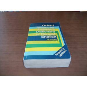 OXFORD ADVANCED LEARNERS DICTIONARYOF CURRENT