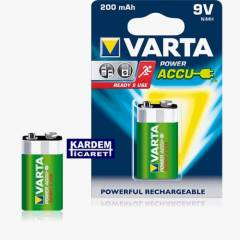 Varta Ready 2 Use 9V 200 mAh �arjl� Pil