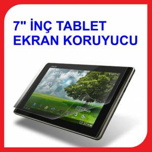 7 in� Tablet Ekran Koruyucu