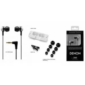 DENON AH-C260 IN-EAR ACOUST�C LUXURY KULAK ���