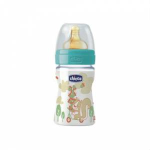 Chicco PP Biberon Kau�uk Emzikli 150 ml Normal