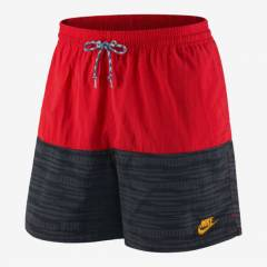 NIKE GF TEAM GRAY-RED SHORT MAYO
