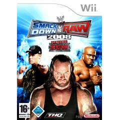 WWE SMACKDOWN VS RAW 2008 WII PAL SIFIR