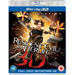 Resident Evil: Afterlife (3D)    - Blu-ray