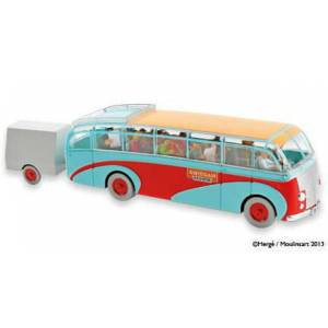 Tintin Swissair Bus (Araba) Tenten